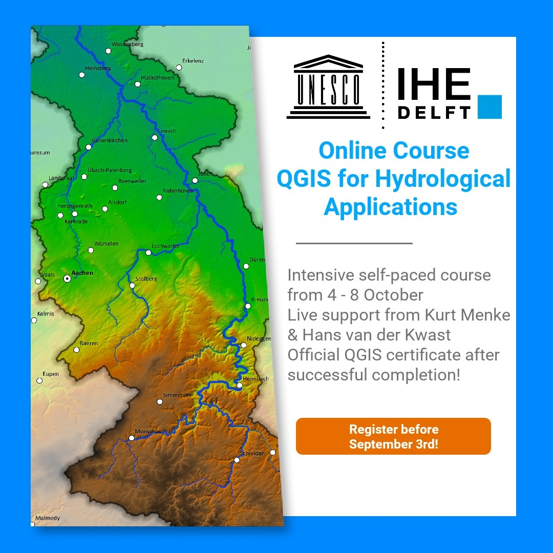 QGIS Hydrological Applications Course